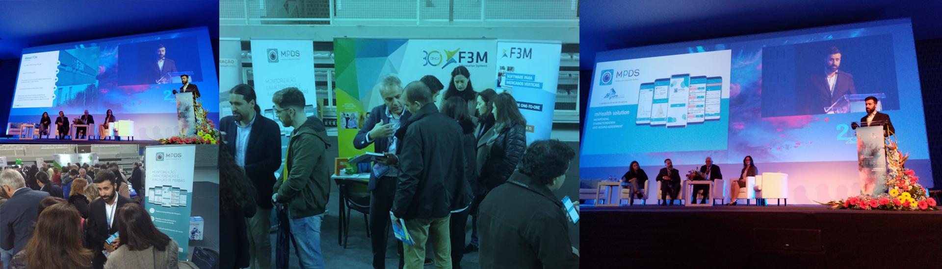 F3M lança solução inovadora na Medica e no Congresso ATP Feridas