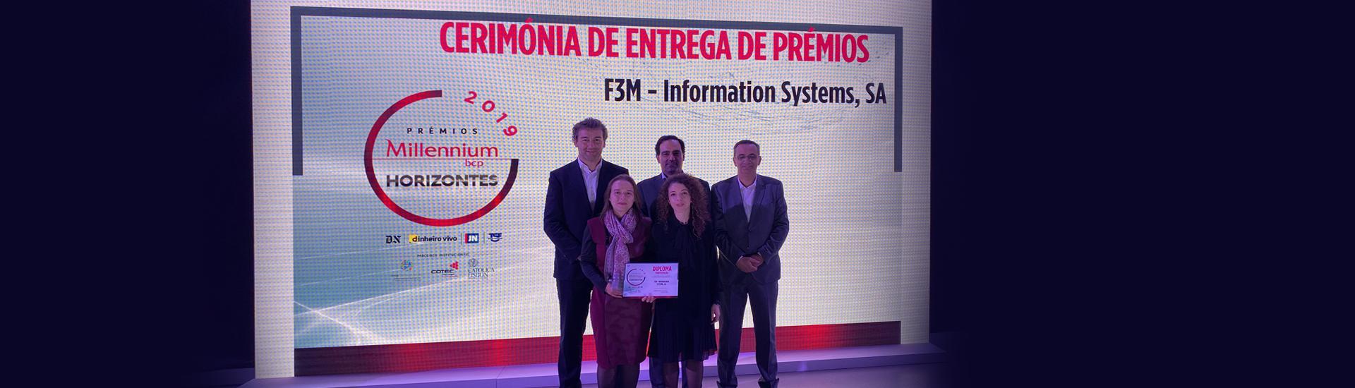 Prémios Millennium Horizontes| F3M entre as Empresas Finalistas